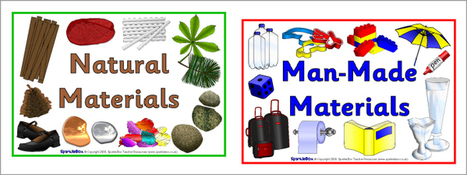 Natural and man-made materials signs (SB2699)