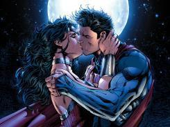 Superman and Wonder Woman kiss, with powerful consequences - USA TODAY | Sex Crime Woman Money And Love | Scoop.it
