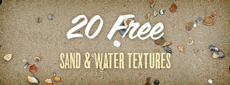 20 Free Sand and Water Textures for the Summer | Linguagem Virtual | Scoop.it