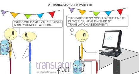 A translator at a party III | What´s new in Translation World? | Scoop.it