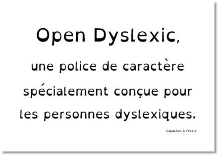 Open Dyslexic | Information doc KM | Scoop.it
