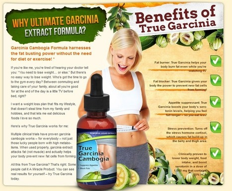 True Garcinia Cambogia Review - GET FREE TRIAL SUPPLIES LIMITED!!!   It Makes My Body Perfect Smart And Active   Scoop.it