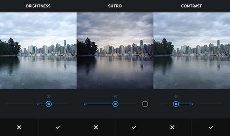 Instagram Builds Impressive Photo Editing Features Into Major Version 6.0 Release | Travel Photography | Scoop.it
