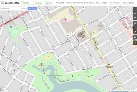 Les ruelles de Limoilou cartographiées via OpenStreetMap - MonLimoilou.com | Cartes libres et médiation numérique | Scoop.it