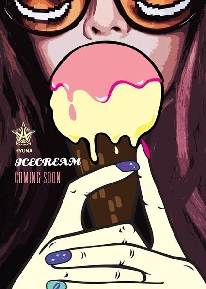 ฮยอนอา (HyunA) คัมแบ็คเพลงใหม่ 'ICECREAM' 17 ต.ค.นี้ | greentea | Scoop.it