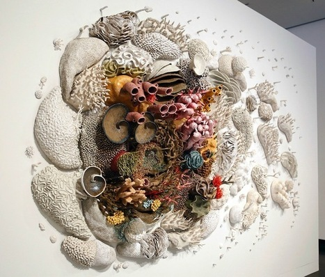 Large Coral Reef Sculpture Raises Conservation Awareness | IELTS, ESP and CALL | Scoop.it