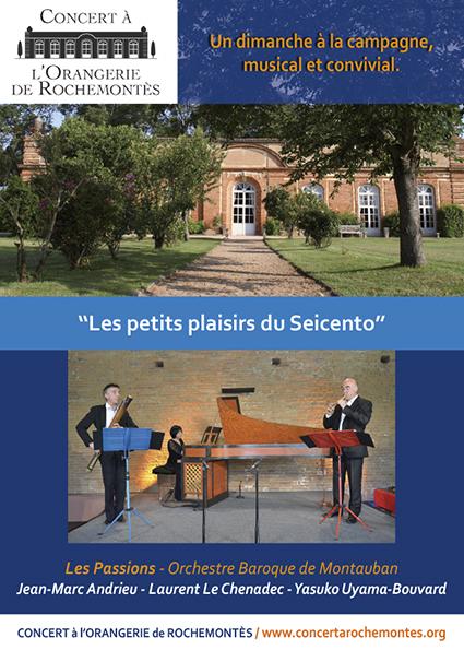 DVD : Les Passions en Concert à l'Orangerie de Rochemontès. | FOLLE de MUSIQUE | Scoop.it