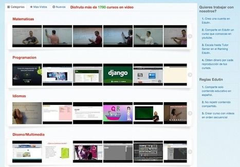 Educación tecnológica: Edutin: cursos completos en vídeo | APRENDIZAJE | Scoop.it