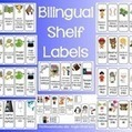 Bilingual Library Shelf Labels (English and Spanish) | Information Powerhouses | Scoop.it