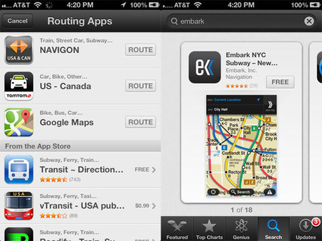 Apple acquires Embark, a transit app it recommended during the ... | Transit | Scoop.it