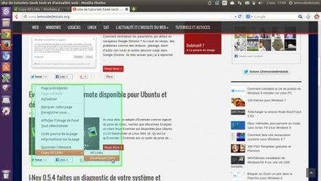 Copy All Links - une extension firefox pour copier tous les liens d'une page web d'un seul clic | tutoriel,astuce,tech, geek....... | Scoop.it