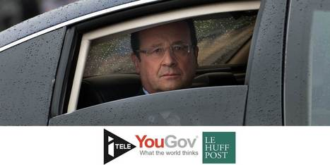 Popularité: Hollande atteint 13% d'opinions favorables, nouveau record à la baisse [YouGov] | Think outside the Box | Scoop.it
