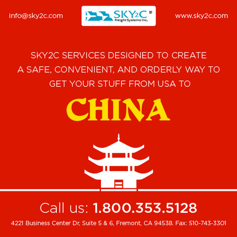 Shipping To and from China: Shipping Experts   Commercial Cargo Services Fremont   Scoop.it