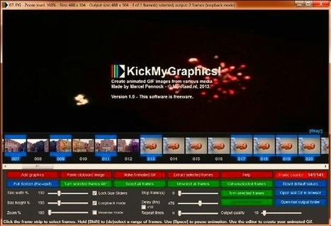 KickMyGraphics: potente software gratuito para crear, editar y optimizar animaciones GIF | Recull diari | Scoop.it