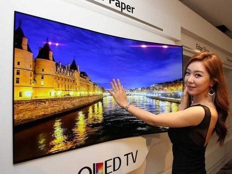 LG invente l'écran géant ultra plat qui se colle au mur comme un magnet de réfrigérateur | Think outside the Box | Scoop.it