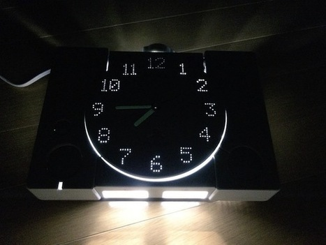DIY : Transform An Old Playstation Into A Stunning Light-Up Clock | Artdictive Habits : Sustainable Lifestyle | Scoop.it
