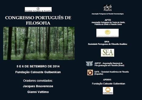 Setembro 2014: 1º Congresso Português de Filosofia :: iflb.webnode.com | Filosofia SL | Scoop.it