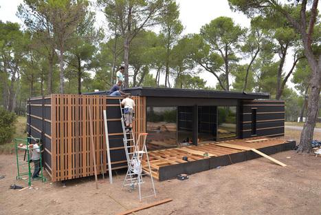 Construisez votre maison écologique en quelques semaines grâce au concept innovant de cette entreprise française | Hightech, domotique, robotique et objets connectés sur le Net | Scoop.it