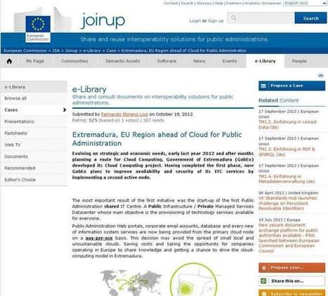 La Comisión Europea pone a Extremadura como ejemplo en ... | Gestión de Proyectos | Scoop.it