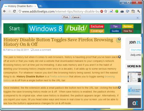 Print Plus – Select & Print Important Sections Of A Web Page [Chrome] | Le Top des Applications Web et Logiciels Gratuits | Scoop.it