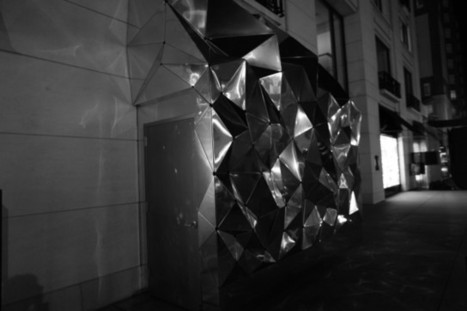 City of Light: A Sparkly, Geometric Wonderland at Barneys, by Joanie Lemercier, All-Star Team   Video mapping   Scoop.it