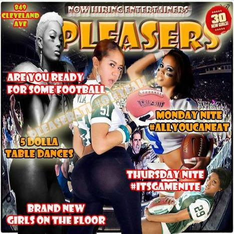 @PleasersAtL 849 Cleveland Ave Raiders Vs Broncos..... Free Wings &Nachos.... Atlantas Coolest Girls.......#LetsGo | GetAtMe | Scoop.it