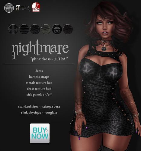 Nightmare @ Buy Now | 亗  Second Life Fashion Addict  亗 | Scoop.it