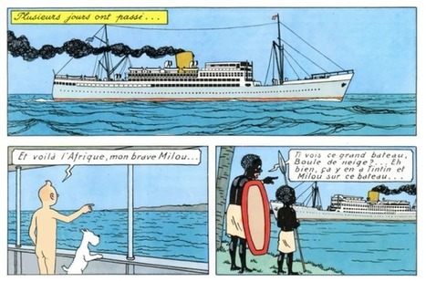 This Artist Is Redrawing a Tintin Book With Tintin Buck Naked | Strange days indeed... | Scoop.it