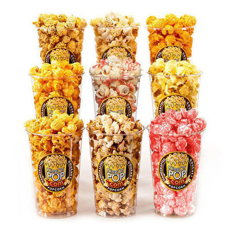 Holiday-Flavored Gourmet Popcorn - King of Pop Created This Indulging Thanksgiving Meal Treat (TrendHunter.com) | Popcorn | Scoop.it