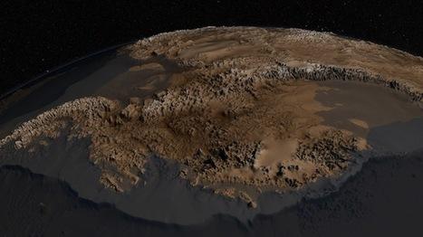 The unfrozen continent: Scientists map the terrain beneath the ice of Antarctica | Mis Tecnologías | Scoop.it