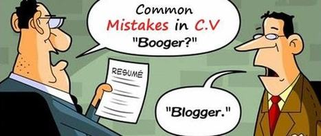 Common Rookie Mistakes in C.V   Perfect Writing Services   Scoop.it