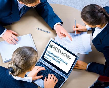 Fiches actions - Responsabilité dans les usages du numérique | TUICE_Université_Secondaire | Scoop.it