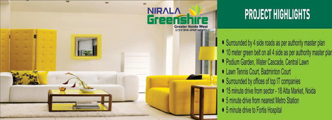 Nirala Greenshire residential project in noida   Real Estate   Scoop.it