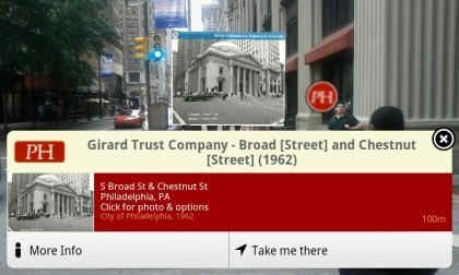 Augmented Reality by PhillyHistory.org and Azavea launches on iPhone, Android - Technically Philly | Augmented Reality News and Trends | Scoop.it