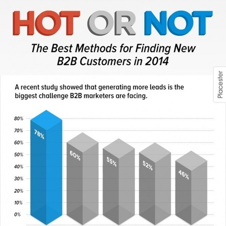 [Infographic] Hot or Not: The Best Methods for Finding New B2B Customers in 2014 | Stratégie commerciale, Stratégie de développement | Scoop.it