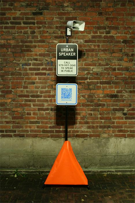 Urban Speaker | DESARTSONNANTS - CRÉATION SONORE ET ENVIRONNEMENT - ENVIRONMENTAL SOUND ART - PAYSAGES ET ECOLOGIE SONORE | Scoop.it