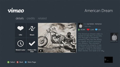 Xbox Live Receives Vimeo, AOL On, SNagFilms And More | World of Games | Scoop.it