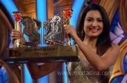 Gauhar Khan Wins Bigg Boss 7 | Bollywood Movies, Videos, Photos, Events | Scoop.it