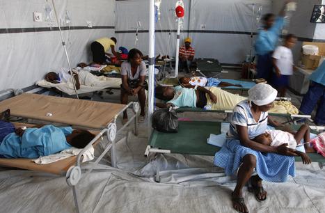 RDC : nouveau pic de choléra à Kinshasa | Risques et Catastrophes naturelles dans le monde | Scoop.it