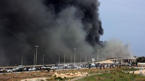 """Explosions in #Libya's capital kill 2 