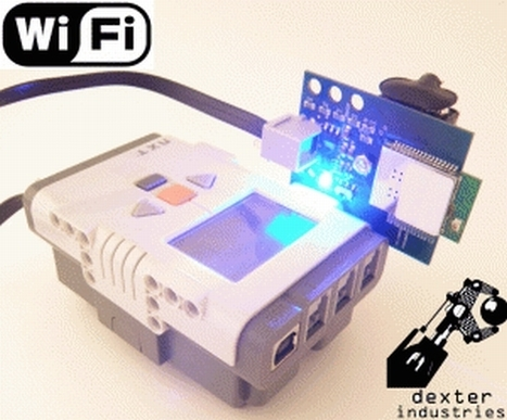 Lego NXT creations are even cooler with WiFi on board - Hack a Day | Internet of Things rkj | Scoop.it