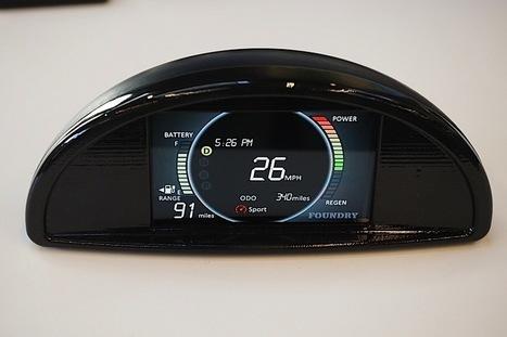 Mostrador digital transforma automóvel em carro eléctrico virtual | Heron | Scoop.it