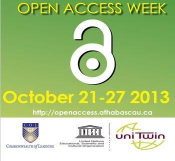 Semana del Acceso Abierto (21-27 Oct, 2013)   UNESCO/COL CHAIR IN OER   REA y las TICL   Scoop.it