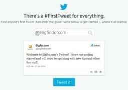 Twitter Celebrates 8th birthday with Fun First Tweet Tool | Bigfin Blog | Scoop.it