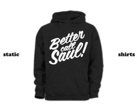 Better Call Saul Hoodie | Breaking Bad Hoodie Sweatshirt | New T-Shirt | Scoop.it