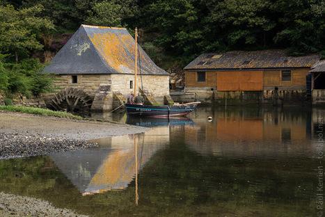 balade photo en Finistère, Bretagne et...: moulin à marée du Hénant, sur L'Aven, à Névez (6 photos dont 1 pano) | photo en Bretagne - Finistère | Scoop.it