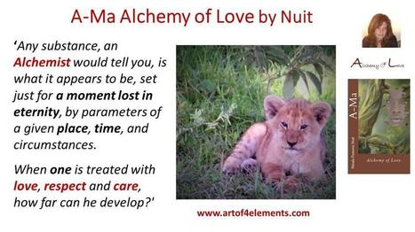 Ama Alchemy of Love by Natasa Pantovic Nuit Quote about reaching highest potential Mindfulness | Human Mind and Creativity | Scoop.it