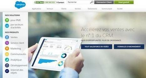 Salesforce : comment le géant du CRM abâti son empire   ESocial   Scoop.it