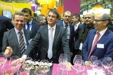 Manuel Valls au SIA : Le vin, « un produit phare » de la France | Le vin quotidien | Scoop.it