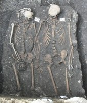 The History Blog » Blog Archive » Medieval skeletons found holding hands in Romania | This sea of Stories | Scoop.it